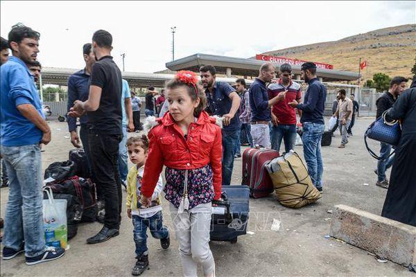 Phá đường dây đưa người Syria vào Đức