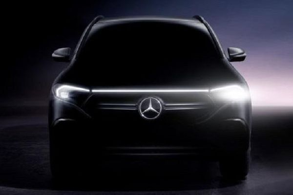Mercedes-Benz EQA sẽ ra mắt ngày 20/1, phạm vi chạy điện lê tới 401 km, pin 66 kWh