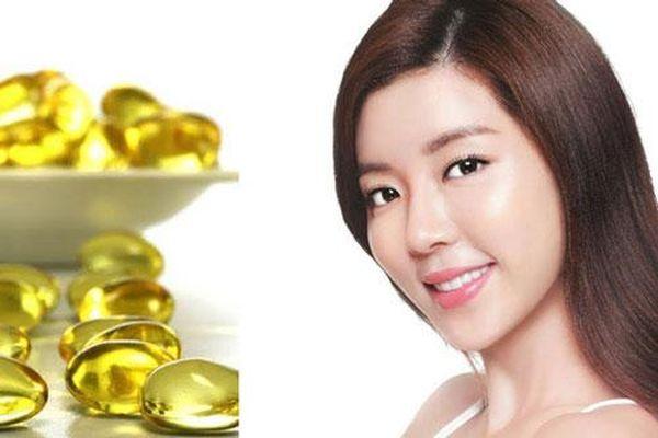 Da trắng hồng chỉ bằng cách dùng vitamin E