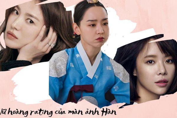 3 nữ hoàng rating của màn ảnh Hàn: Shin Hye Sun liệu đã đủ tầm để ngang hàng với Song Hye Kyo?