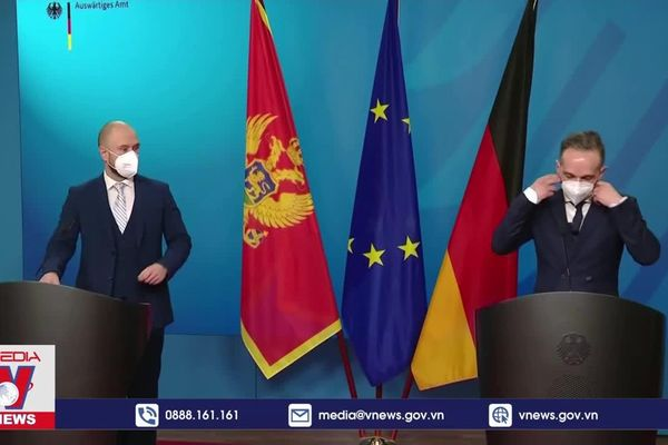 Đức muốn đàm phán với Mỹ về Dòng chảy phương Bắc 2
