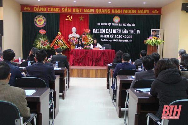 Đại hội đại biểu Hội khuyến học Trường ĐH Hồng Đức lần thứ IV