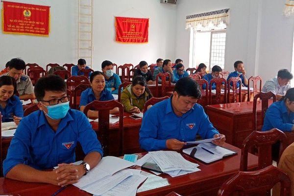 Huyện đoàn Phú Tân triển khai mô hình 'Mỗi tháng thực hiện một lời dạy của Bác Hồ'