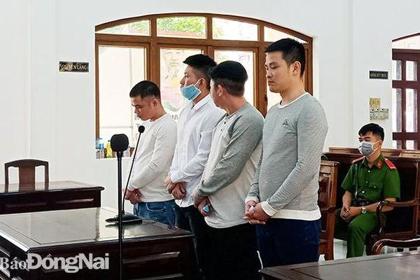 Buôn bán ma túy, 4 bị cáo lãnh án 39 năm tù