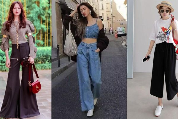 'Đổi món' với 6 kiểu quần tôn dáng cho các tín đồ mặc đẹp