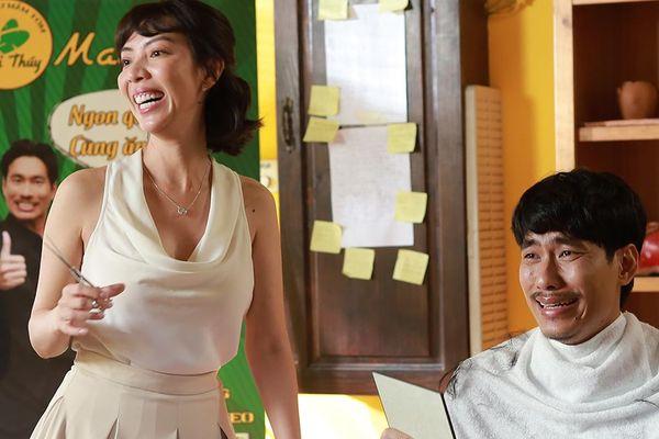 Thu Trang và Kiều Minh Tuấn hé lộ tạo hình hài hước trong 'Chìa khóa trăm tỷ'