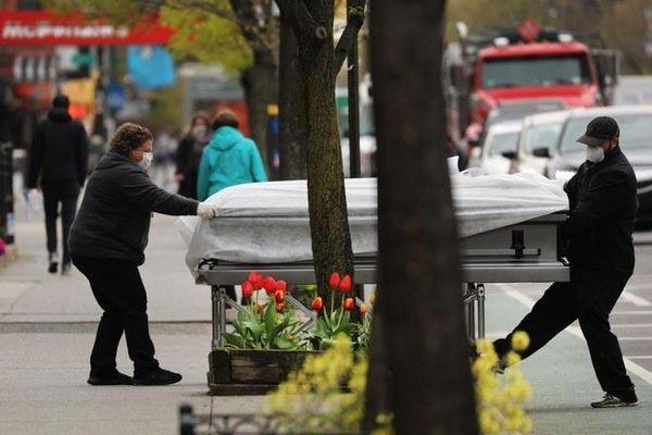Ca tử vong vì Covid-19 ở Mỹ vượt số người chết trong Thế chiến II