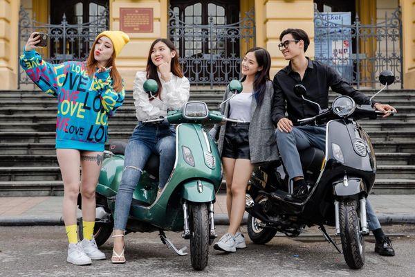 Dibao ra mắt loạt xe máy điện, xe tay ga 50 cc dịp cận Tết