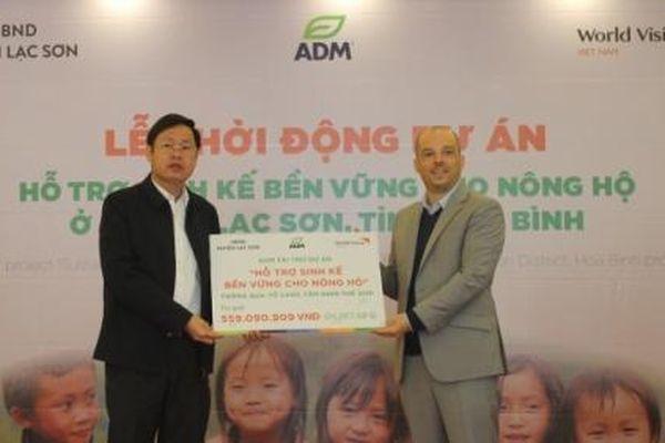 Hỗ trợ sinh kế bền vững cho 50 hộ nông dân Hòa Bình