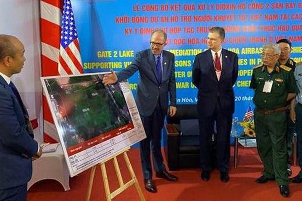 Mỹ-Việt và kết quả hợp tác khắc phục hậu quả chiến tranh