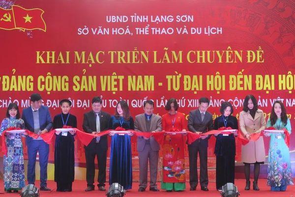 Triển lãm 'Đảng Cộng sản Việt Nam - từ Đại hội đến Đại hội'