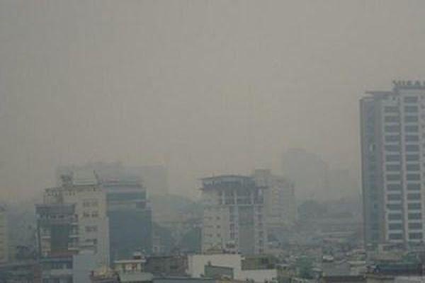 Ô nhiễm không khí lại xuất hiện tại Hà Nội