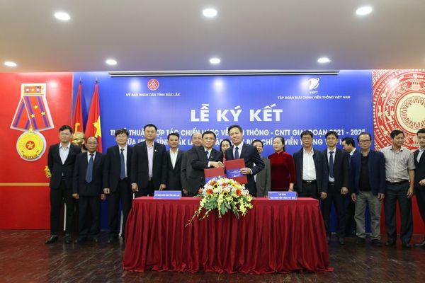 VNPT đồng hành cùng tỉnh Đắk Lắk chuyển đổi số, xây dựng chính quyền điện tử