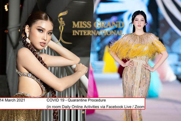 Á hậu Ngọc Thảo thi Miss Grand International tại Thái Lan: Chuẩn bị gấp rút, phải cách ly 1 tháng