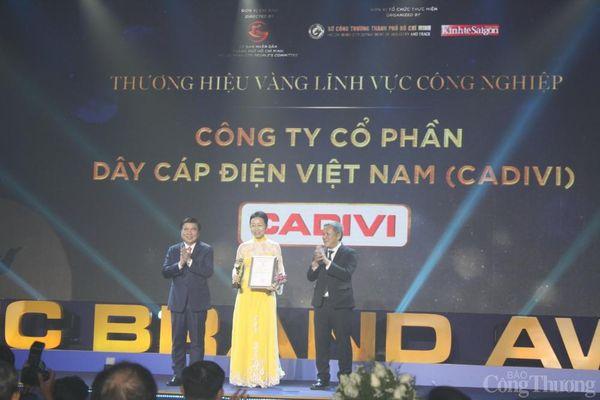 TP. Hồ Chí Minh: 30 doanh nghiệp nhận giải thưởng Thương hiệu vàng