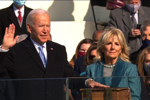 Toàn cảnh lễ nhậm chức đặc biệt của tân Tổng thống Mỹ Joe Biden