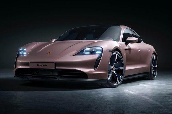 Porsche Taycan điện 2021 lộ diện, giá từ 79.900 USD