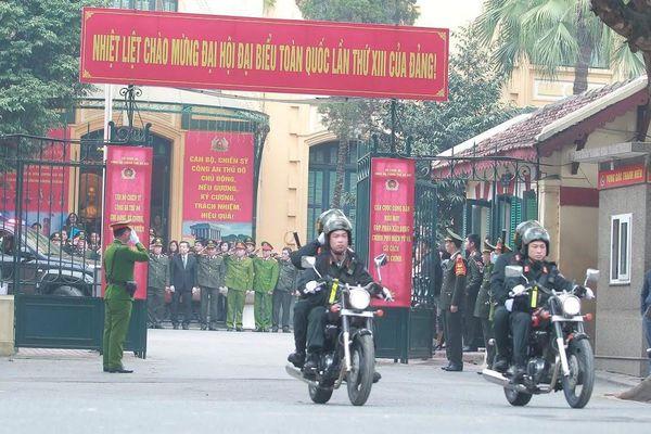 Cảnh sát Cơ động CATP Hà Nội đã bắt giữ gần 1.000 đối tượng trong năm 2020