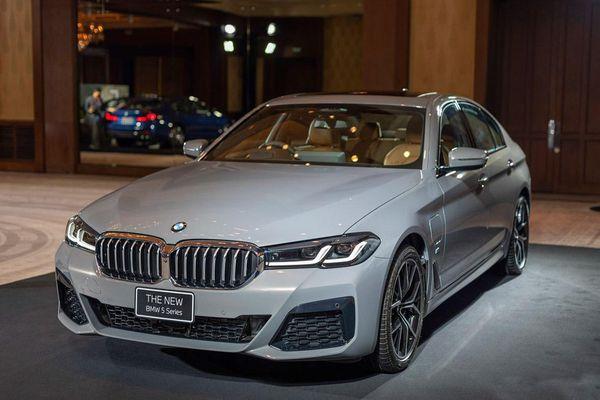 BMW 5-Series 2021 được ra mắt tại Thái Lan, giá từ 100.166 USD