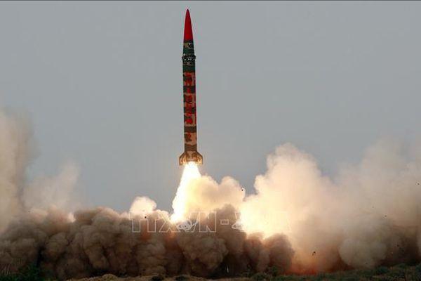 Pakistan thử nghiệm thành công tên lửa Shaheen-III