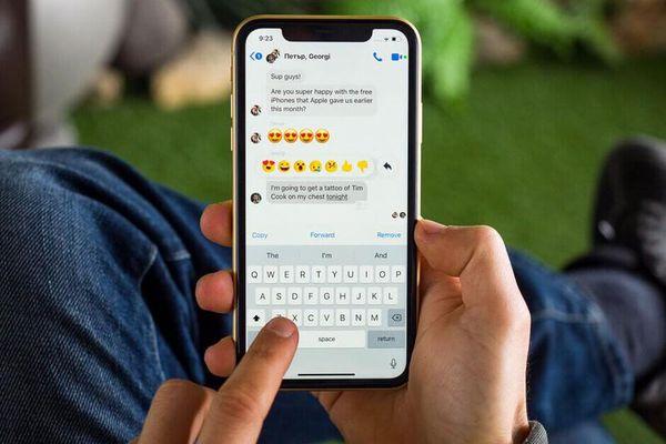 Những cách khắc phục bàn phím trên iPhone bị chậm