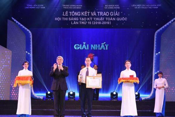 Nhà giáo chế tạo thiết bị chưa từng có ở Việt Nam