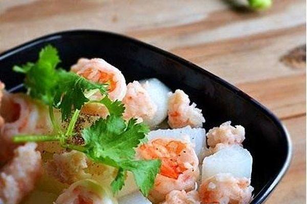 Tôm nấu với củ này vừa bổ dưỡng lại giảm ho cảm, món ăn quá hợp cho mùa đông