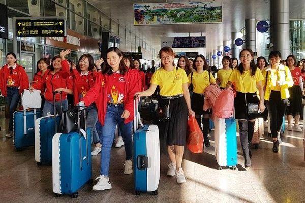 Đà Nẵng đón đoàn khách 700 người dịp cận Tết