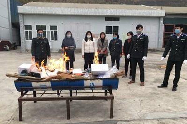 VKSND tỉnh Điện Biên: Kiểm sát việc tiêu hủy vật chứng, tài sản của 9 bản án