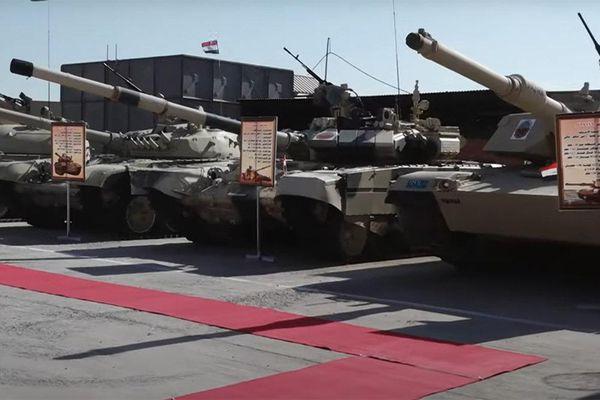 Ảnh hiếm: xe tăng của Trung Quốc, Nga và Mỹ đứng chung hàng ngũ