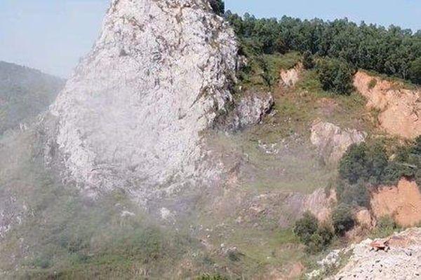 Hải Dương: Công ty Hoàng An nổ mìn khai thác đá gây sạt lở, nguy hiểm