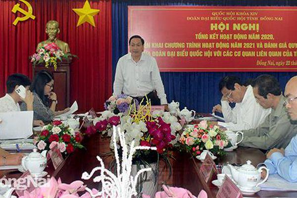 Đoàn đại biểu Quốc hội tỉnh tiếp tục nâng cao chất lượng, hiệu quả hoạt động
