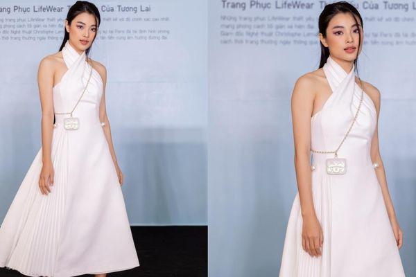 'Diễm' Lan Thy bất ngờ xuất hiện tại sự kiện thời trang, thu hút sự chú ý của mọi người