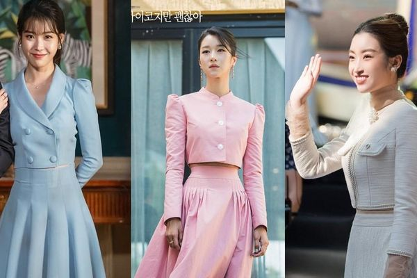 Váy cạp cao khoe eo thon như Seo Ye Ji đang thành 'chân ái' của hàng loạt sao châu Á