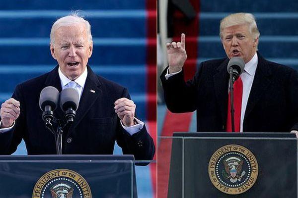 Ông Biden 'thắng' ông Trump về lượt người xem lễ nhậm chức