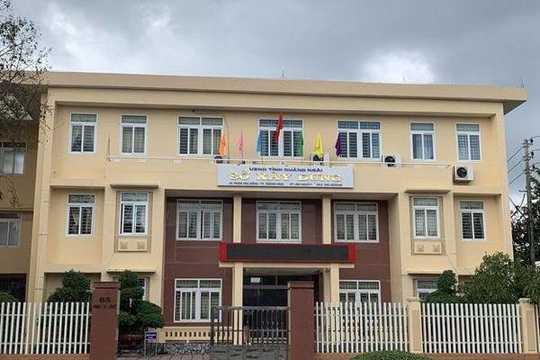 Ông Nguyễn Công Hoàng giữ chức Giám đốc Sở Xây dựng tỉnh Quảng Ngãi