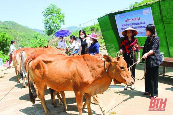Nhân rộng mô hình sinh kế cho hội viên phụ nữ huyện Mường Lát thoát nghèo