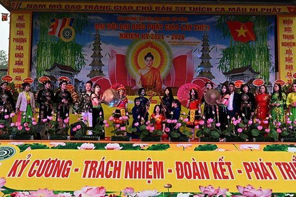 Lào Cai: Đại hội đại biểu Phật giáo huyện Bảo Thắng lần thứ nhất