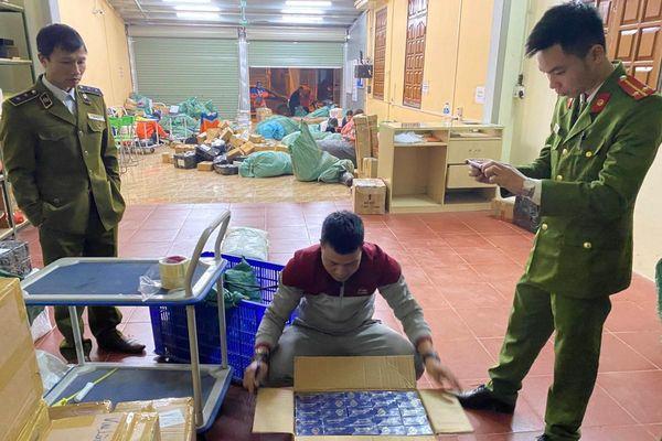 Yên Bái thu giữ 6.500 bao thuốc lá nhập lậu