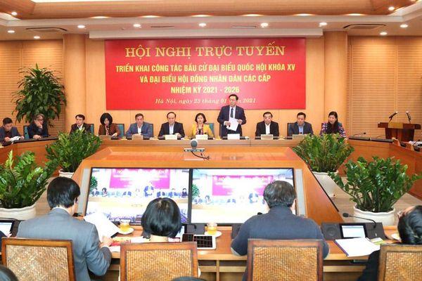 Hà Nội quyết tâm tổ chức cuộc bầu cử thành công, thực chất, trọn vẹn