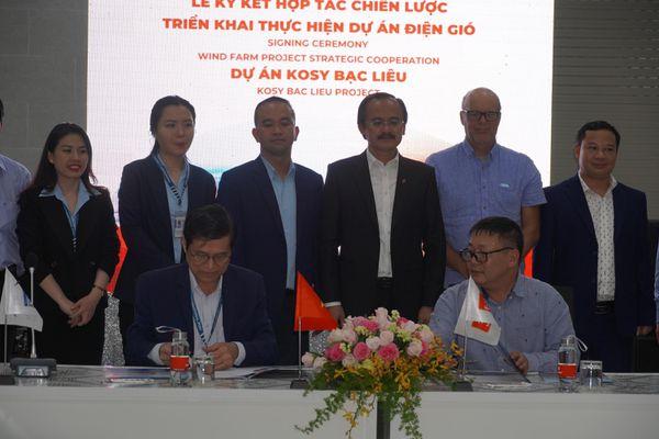 Cảng Quốc tế Long An bắt tay Tập đoàn Đặng Gia triển khai các dự án điện gió