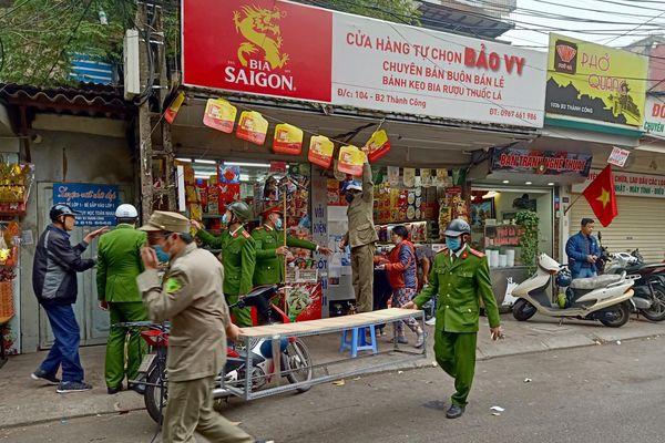 CAQ Ba Đình: Sẵn sàng cao nhất công tác bảo vệ, phục vụ Đại hội Đảng