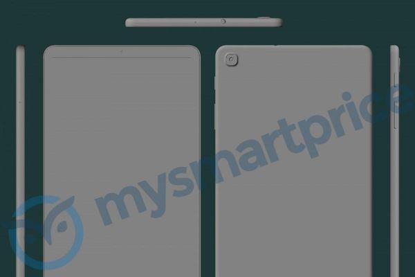 Samsung Galaxy Tab A 8.4 (2021) lộ diện thiết kế thô qua render