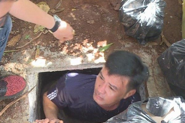 Khởi tố đối tượng trộm cắp đào hầm giấu ma túy