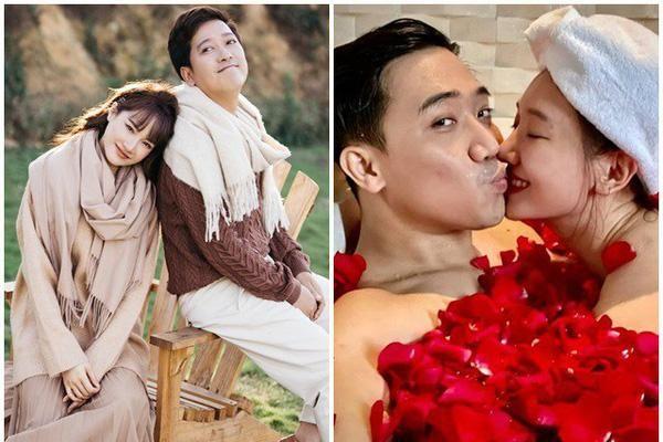 Cách yêu vợ của Trấn Thành - Trường Giang: Người lãng mạn, kẻ chiều hư vợ