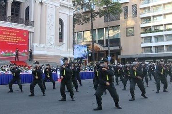 Công an TP Hồ Chí Minh triển khai nhiều hoạt động bảo vệ an toàn Đại hội Đảng lần thứ XIII