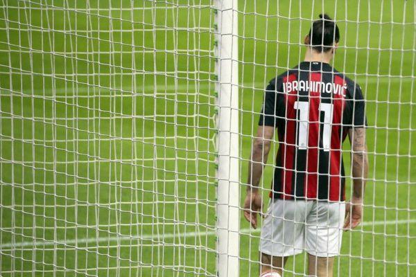 Ibrahimovic dứt điểm cận thành ra ngoài, AC Milan thua đậm Atalanta