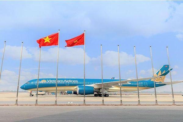 Vietnam Airlines bay 30 chuyến, chở gần 400 đại biểu dự Đại hội Đảng XIII