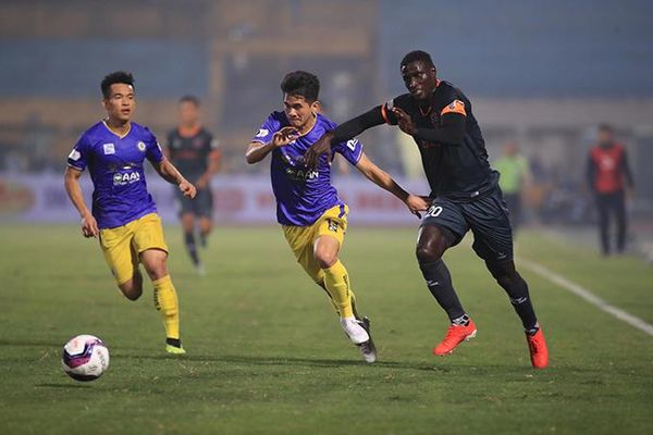 Thua Becamex Bình Dương 1-2, Hà Nội FC trắng tay trên sân nhà
