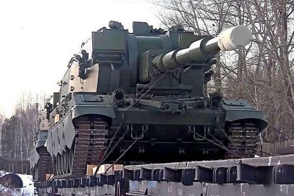 Nga đang triển khai pháo tự hành mạnh nhất tới biên giới Ukraine